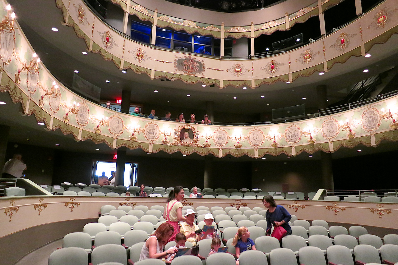 Historic Asolo Theater. An 18th-century treasure in a 21st-century venue, the Historic Asolo Theater is a work of art in its own right. The palace playhouse was created in Asolo, Italy in 1798 to honor the 15th-century exiled Queen Catherine Cornaro of Cyprus.