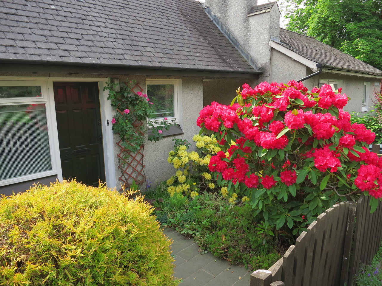 cottage in Luss