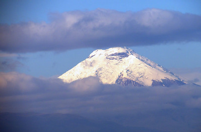 Cotopaxi Volcano is the second highest summit in the country, reaching a height of 5,897 m (19,347 ft). Some consider it the world's highest active volcano.