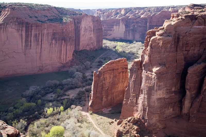 Alain Briot Day 2 - Canyon de Chelly - Junction Overlook