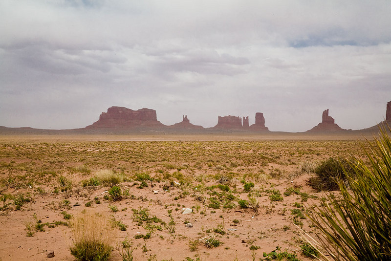 Alain Briot Day 3 - Canyon de Chelly - Route to Monument Valley