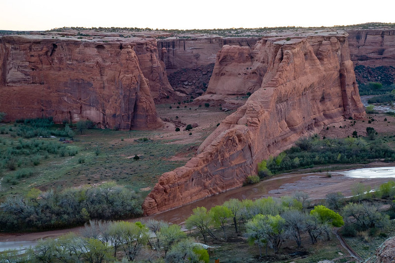 Alain Briot Day 2 - Canyon de Chelly - Tsegi Overlook sunrise