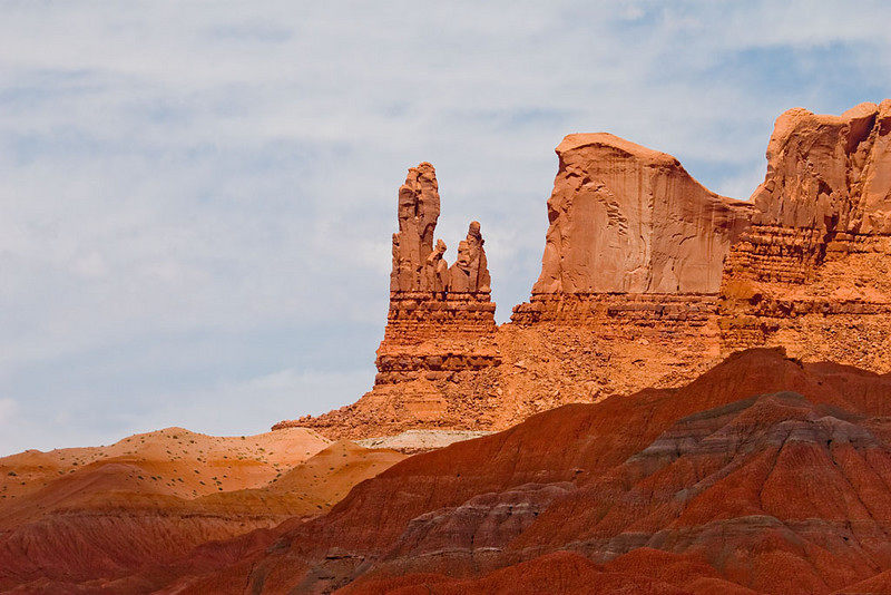 Alain Briot Day 3 - Canyon de Chelly - Monument Valley sunset