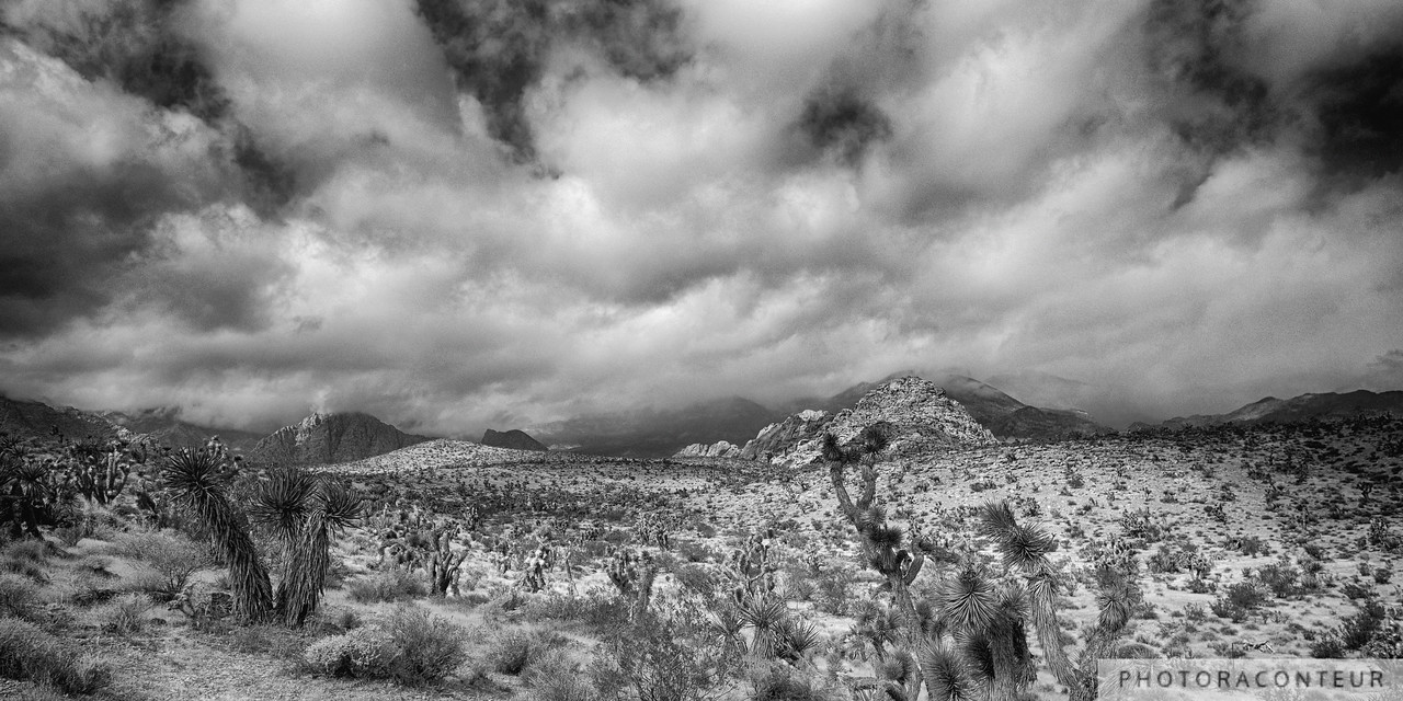 Clouds Over Mojave