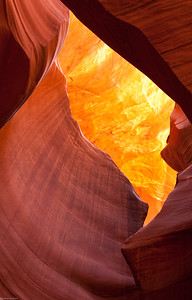Golden Eye Upper Antelope Slot Canyon Page, Arizona