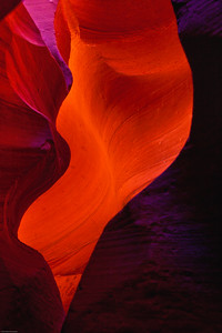 Sensuous Curves Lower Antelope Slot Canyon Page, Arizona