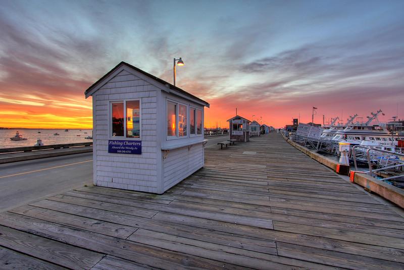 Provincetown Pier <br /> Provincetown, MA<br /> Image #:3510