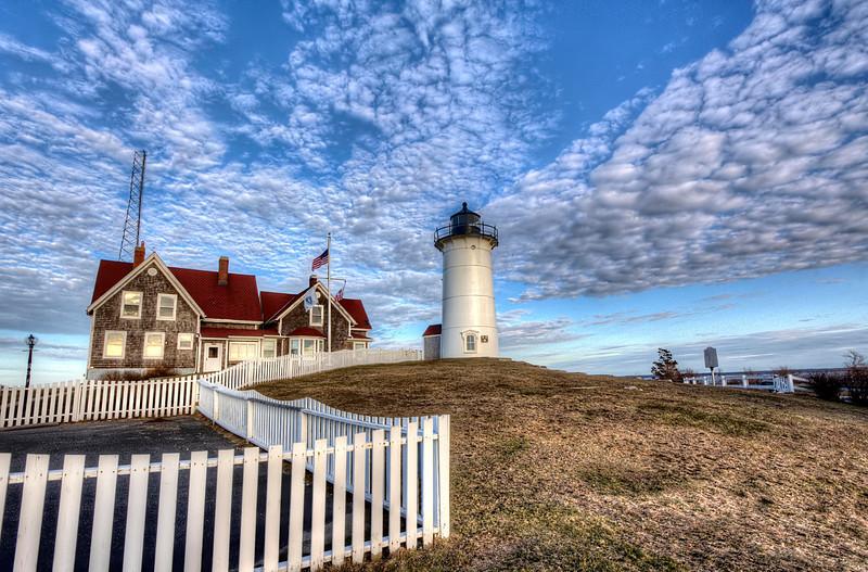 Nobska Lighthouse<br /> Woods Hole, MA<br /> Image #: 3889