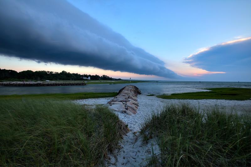 Rock Harbor Storm Clouds