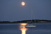 Sailboat on Pleasant Bay <br /> Orleans, Mass<br /> Image #:1817
