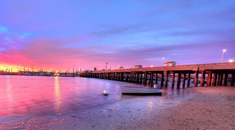 Provincetown Pier <br /> Provincetown, MA<br /> Image #:3476
