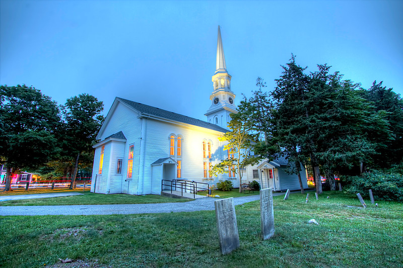 First Congregational Church<br /> Harwich, MA<br /> Image #:0949