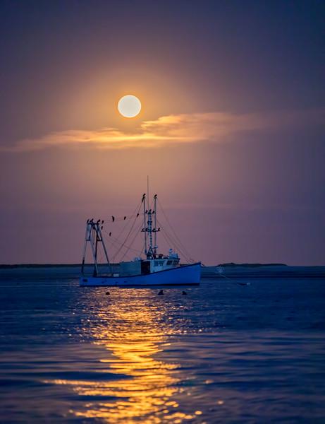 Moon Over Aunt Lydias Cove