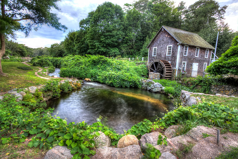 Grist Mill<br /> Brewster, MA<br /> Image#:1132