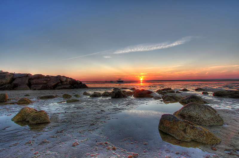 Point of Rocks Beach<br /> Brewster MA<br /> Image #:6515