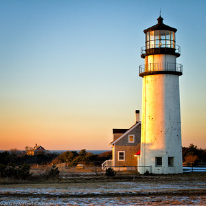Golden Hour at Highland Light, Truro (2012) [Michael A. Karchmer]