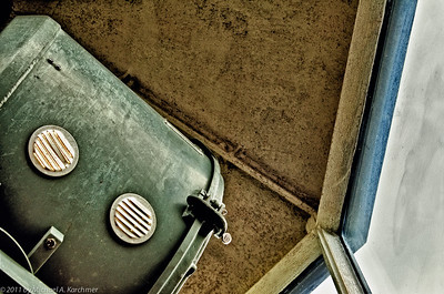Looking up at the Nauset Light, Eastham (2011) [Michael A. Karchmer]