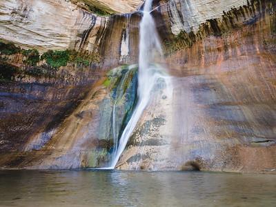 Calf Creek Falls. Capitol Reef National Park, Utah.