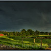 Storm on a farm. An HDR image. Pretty cool.