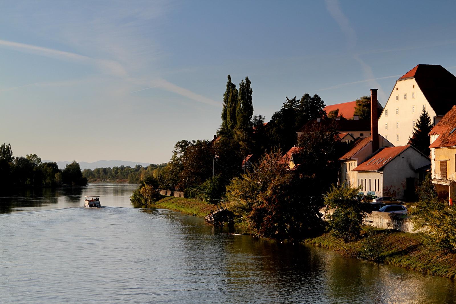 Beautiful Ptju by the Drava