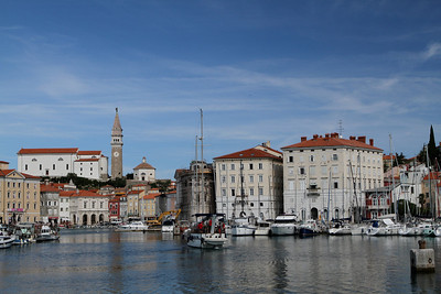 to lovely Piran.