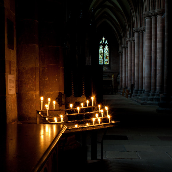 Inside Carlisle Cathedral, I was lucky enough to be attending a one-day photography workshop where we were allowed to use tripods, although is was hand held.