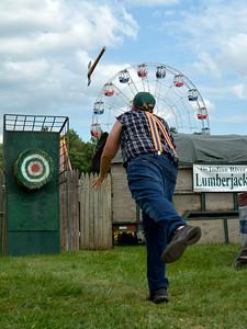Axe Throwing Contest