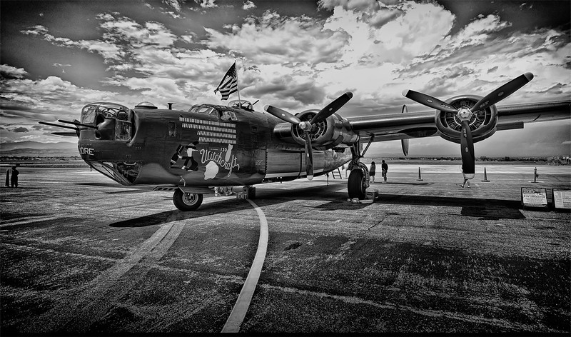 B-24 Liberator WW2  Bomber