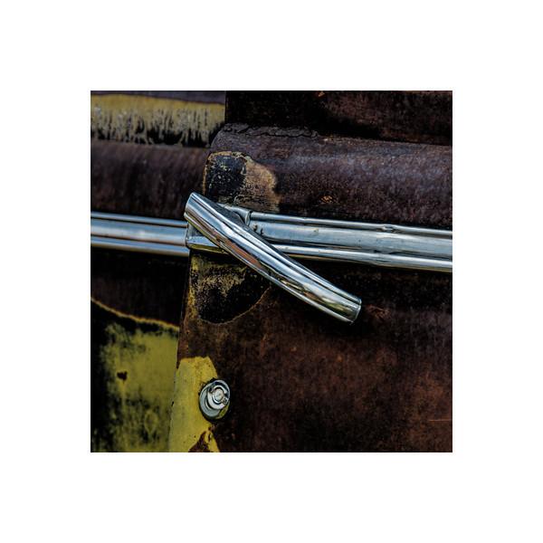 Car Handle II, <br /> Shot at a Auto Salvage yard.