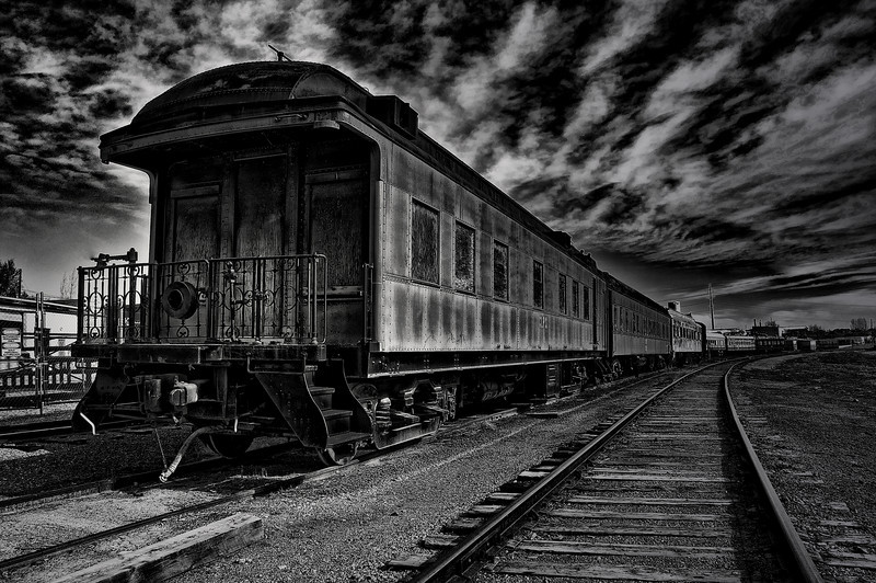 """Train to No Where"" Best of Show Photo"