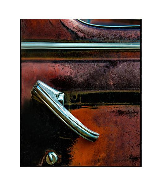 Door Handle<br /> Shot at the Salvage Yard