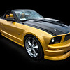 Yellow Mustang<br /> All American Car Show<br /> Loveland, Colorado