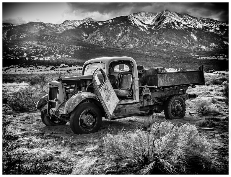 Old White Truck