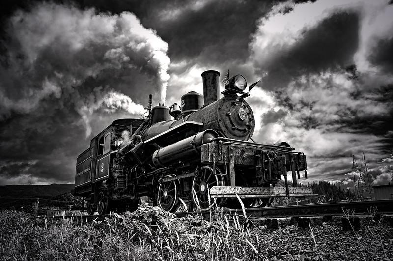 Heisler Locomotive # 2