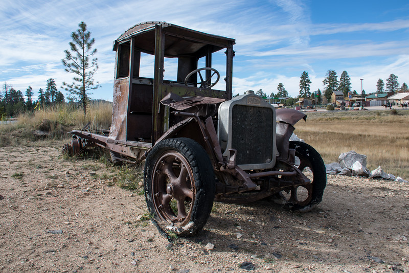 Rusting Away at Bryce Canyon