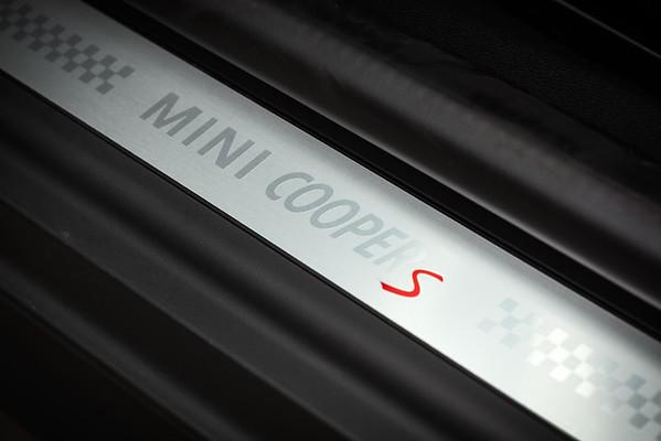 Cooper S door sill