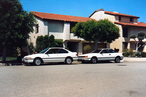 Both cars are considered two-door sports coupes, but I think the Celica looks a tad sleaker.