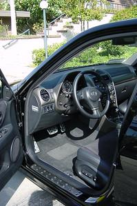 A peek at the interior