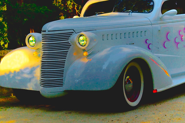 Custom Chevrolet at Sunset