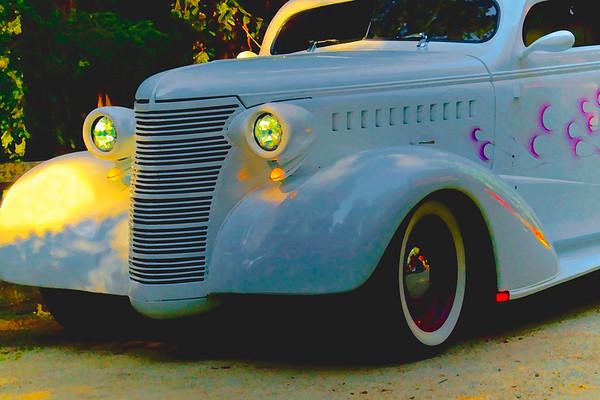 Custom Chevrolet at Sunset