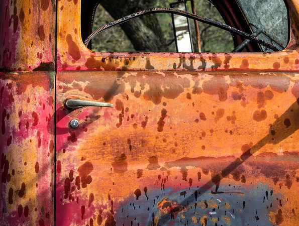 Colorful Truck Door