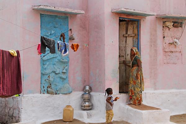 Casas de Orchha  - Nov 2014