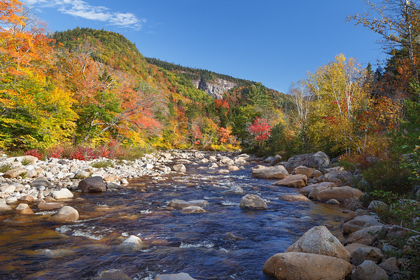 Autumn on the Swift River to Cliffs