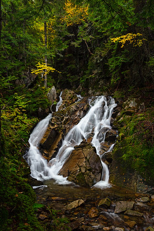 Huntington Cascade in Dixville Ntoch