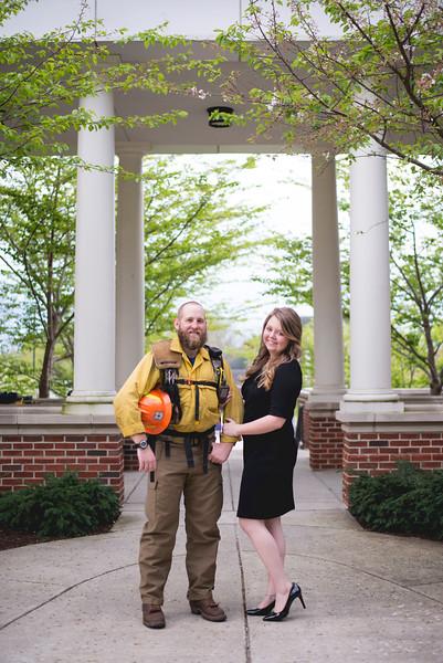 TTU Graduates | Savannah + Caleb