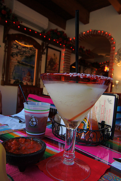But all is well after the tour, and we are soon restored after quaffing margaritas at an Avalon Mexican restaurant.