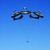 Parachute Cluster at Yuma Arizona