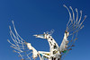 """AZ-Phoenix-Downtown-Art-Sculptures-2006-04-09-0007 No longer there but it used to be at 20th St &amp; Camelback Rd in front of the Town &amp; Country Shopping Center.   <a href=""""http://www.rickwillis-photos.com/Portfolio/Color-B-W-Borders-etc/i-GFSsN9D""""> <font color=""""Red""""> Color Enhanced, Improved Framed Version of this Photo is in this Gallery </font></a><font color=""""Red""""> </font>"""