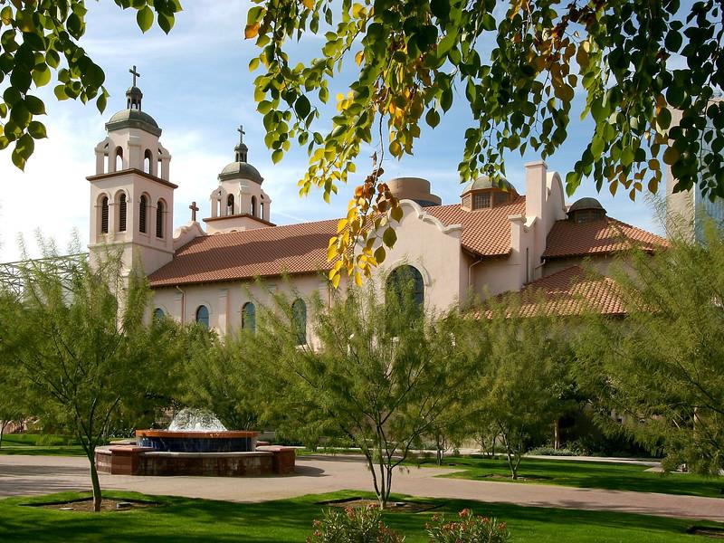 AZ-Phoenix-St  Mary's Basilica-2005-12-26-0011