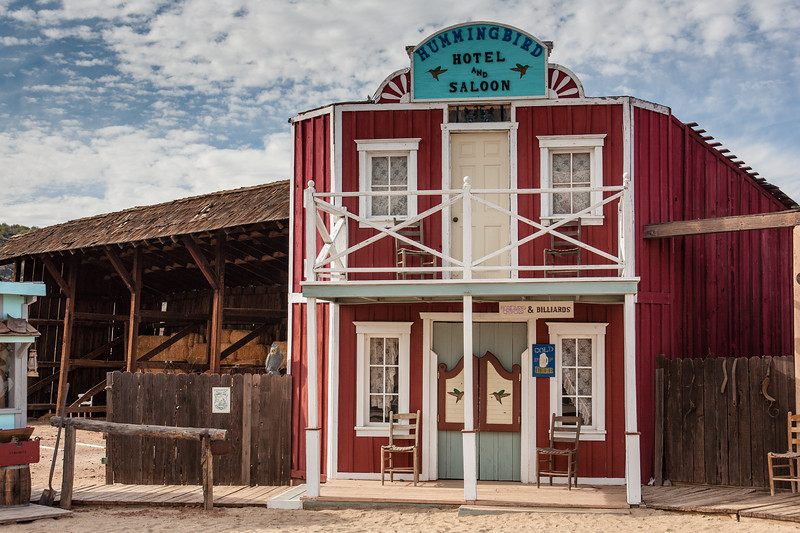 Hotel and Saloon